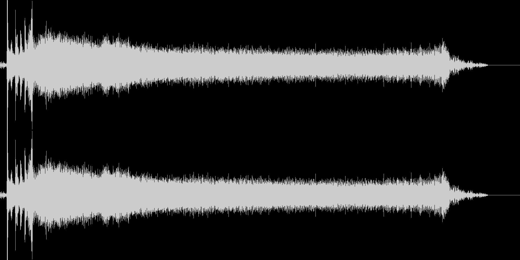 ブロロロ(車のエンジンを掛ける)の未再生の波形