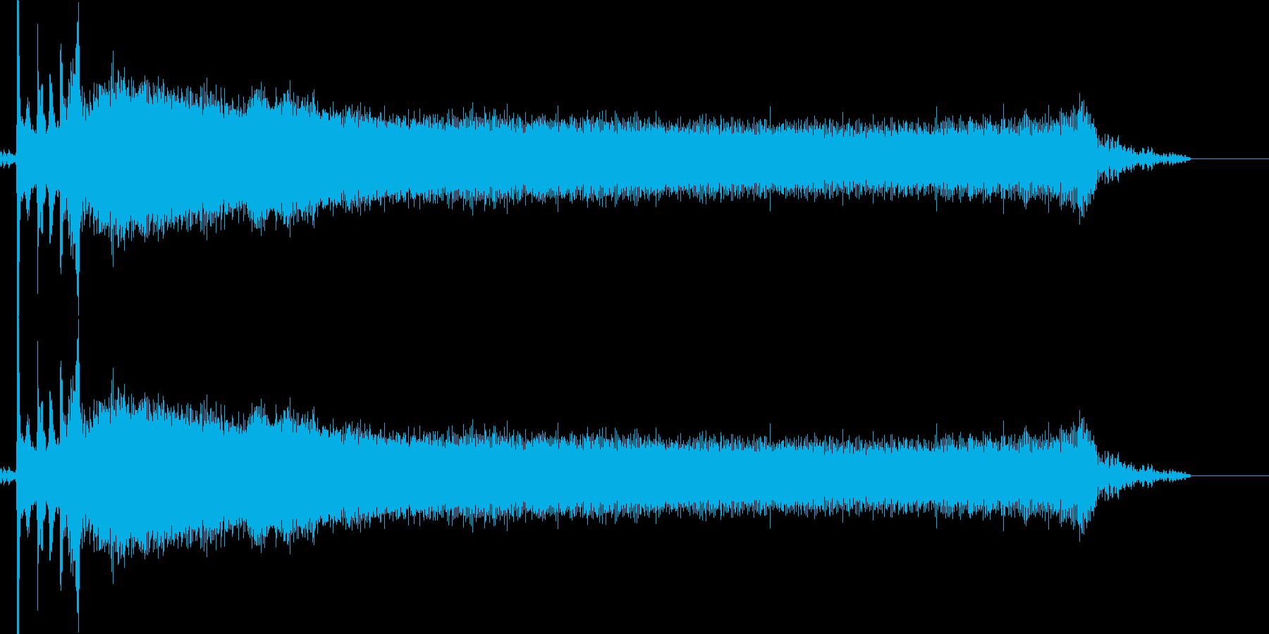 ブロロロ(車のエンジンを掛ける)の再生済みの波形