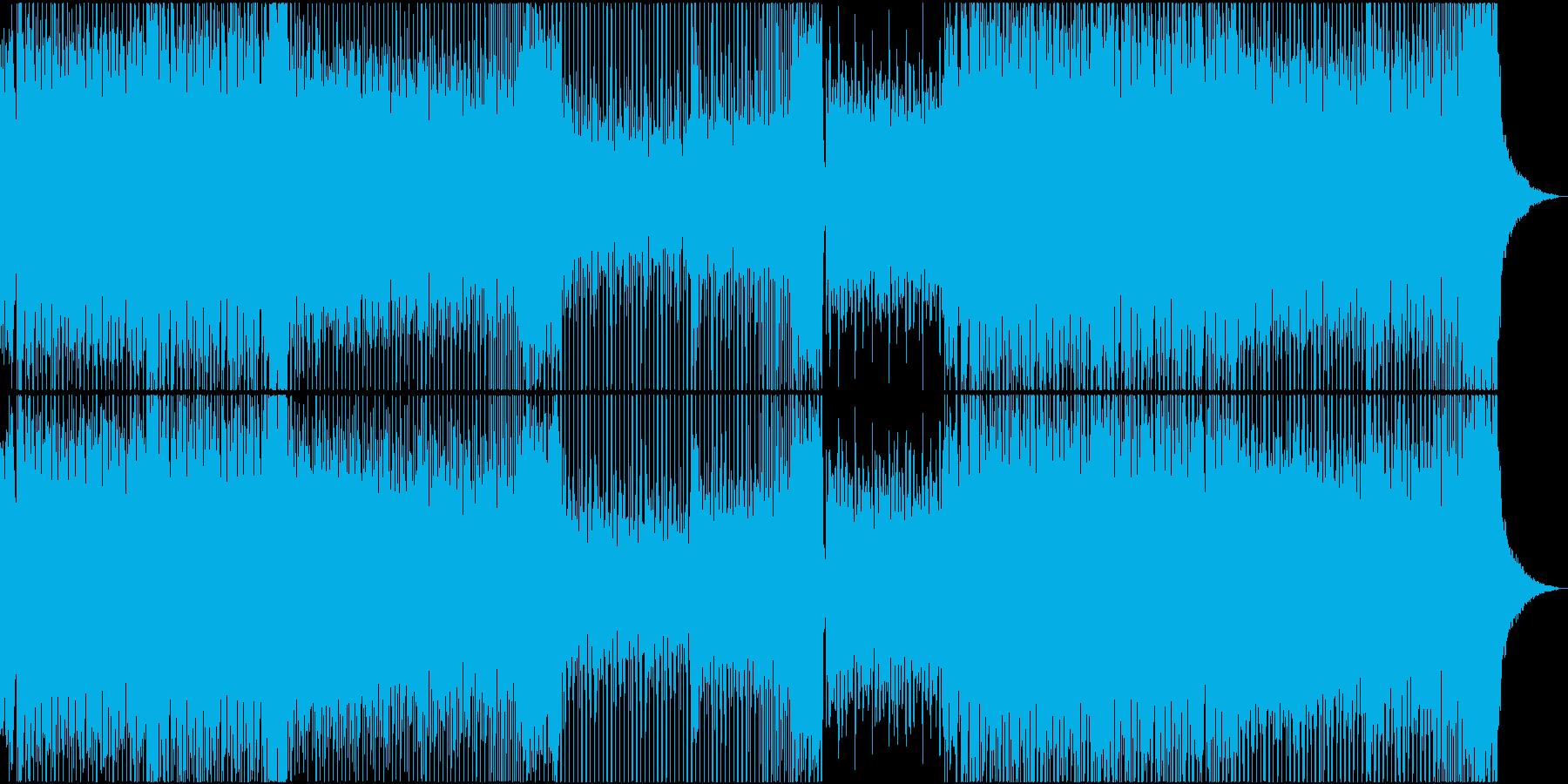 EDM トランス 明るい 楽しい BGMの再生済みの波形