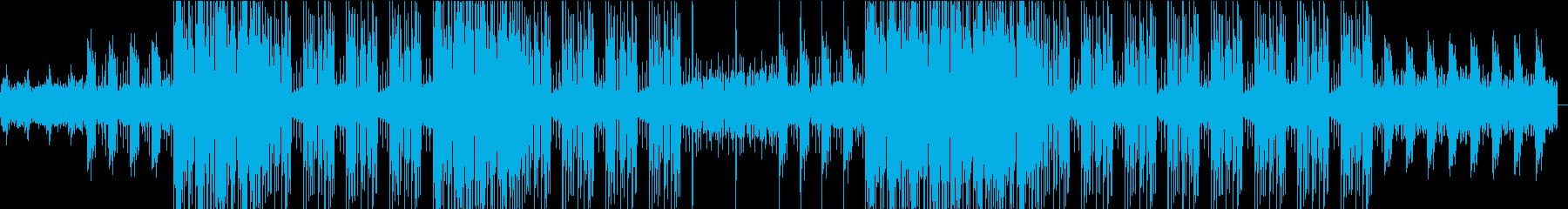 和楽器とDUB STEPの融合の再生済みの波形
