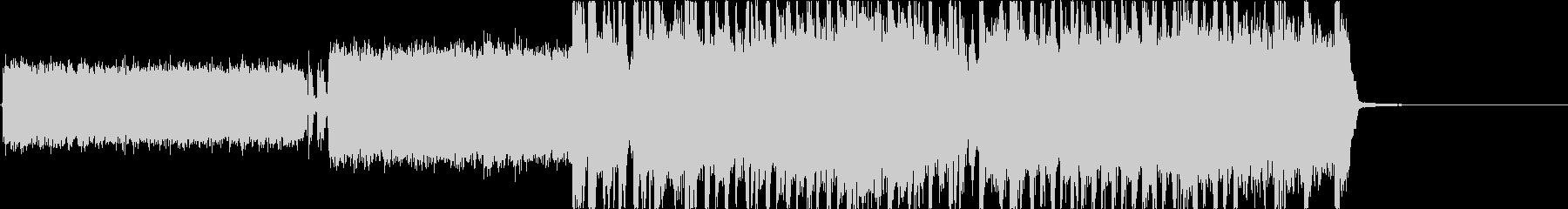ヘビーメタル、ハードロック、リフ2の未再生の波形