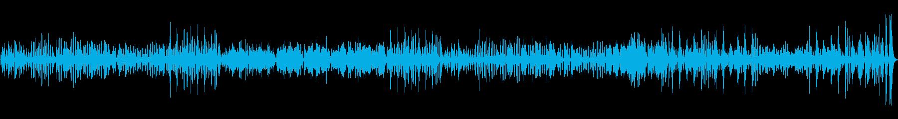 モーツァルトのトルコ行進曲をピアノ演奏での再生済みの波形