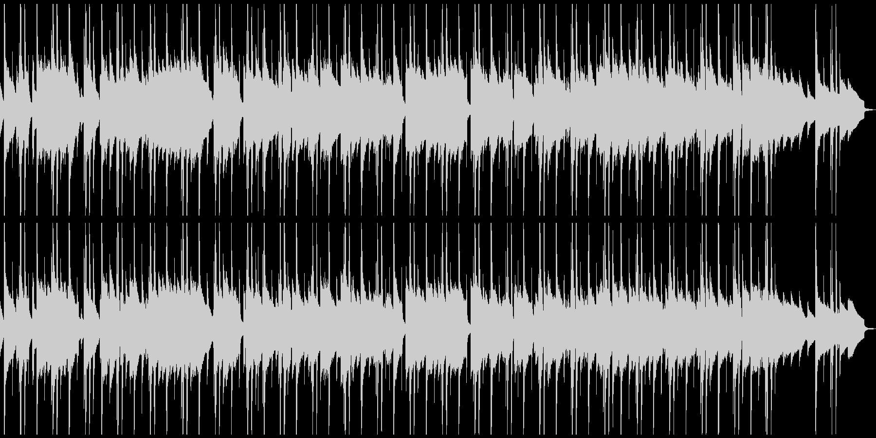 サウンドノベル日常に合いそうなBGMの未再生の波形