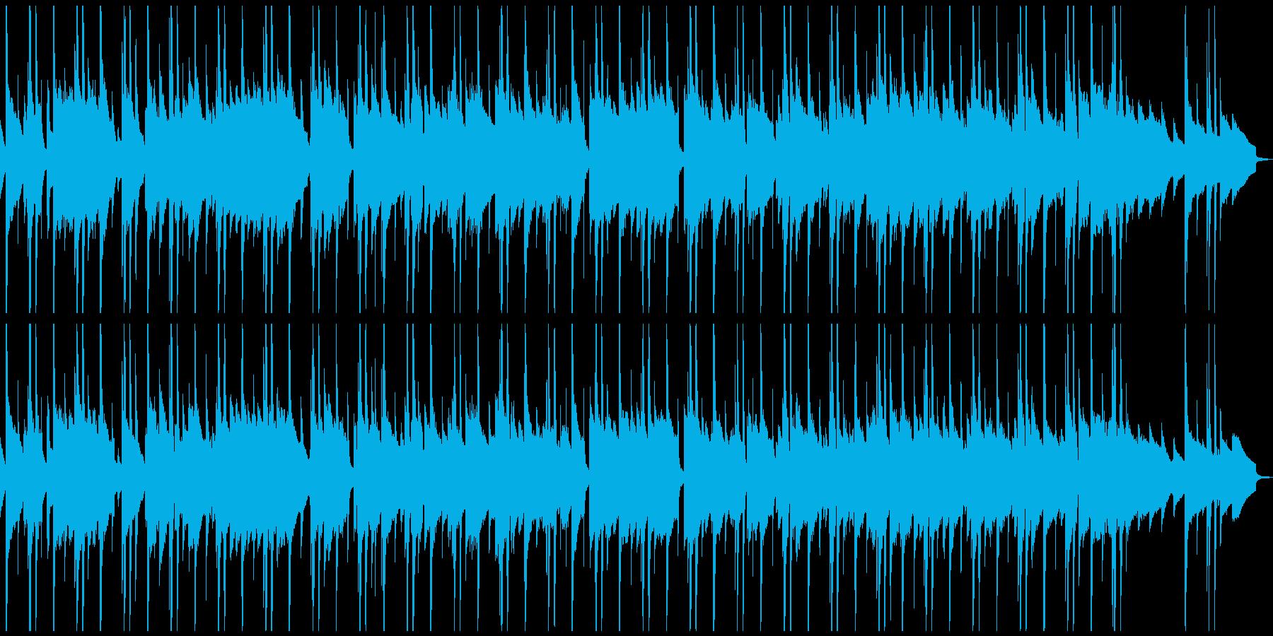 サウンドノベル日常に合いそうなBGMの再生済みの波形