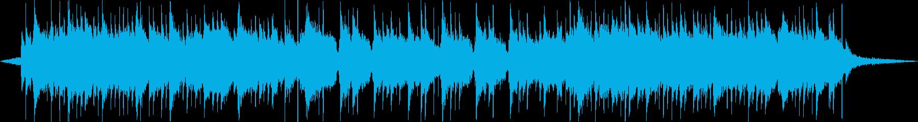 琴、尺八、三味線、切なく壮大な和風曲2の再生済みの波形