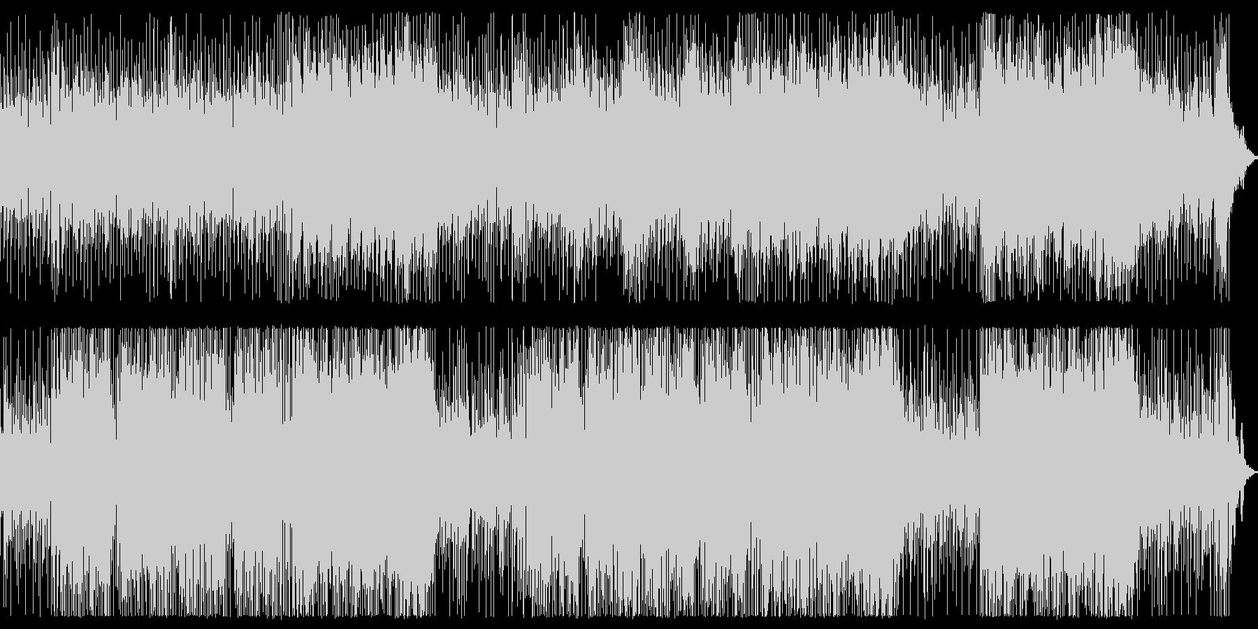 BGM用明るいインストの未再生の波形