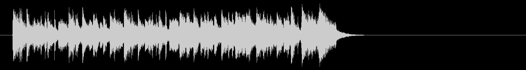リゾート風なフュージョン(イントロ)の未再生の波形