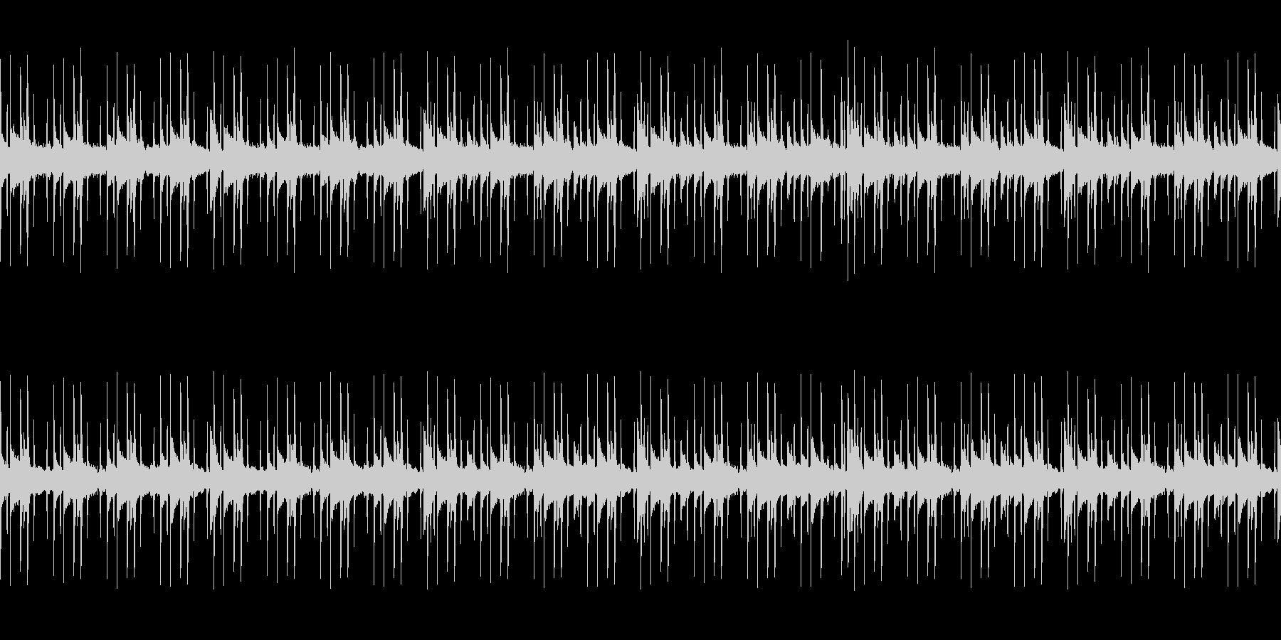 ダークでアンニュイなエレクトロニック系の未再生の波形