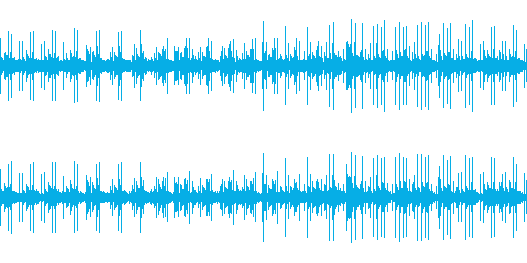 ダークでアンニュイなエレクトロニック系の再生済みの波形