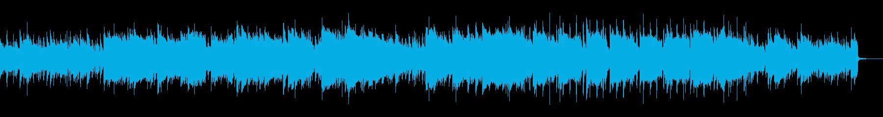 尺八による凛とした雰囲気の曲の再生済みの波形