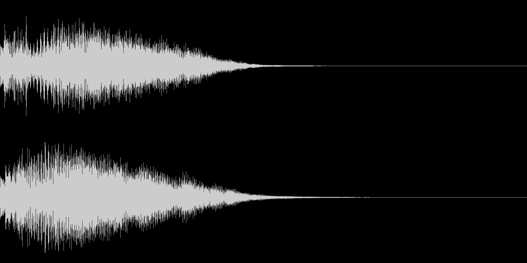 決定音26(シンセN)の未再生の波形
