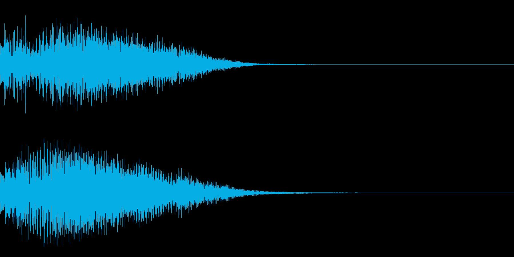 決定音26(シンセN)の再生済みの波形