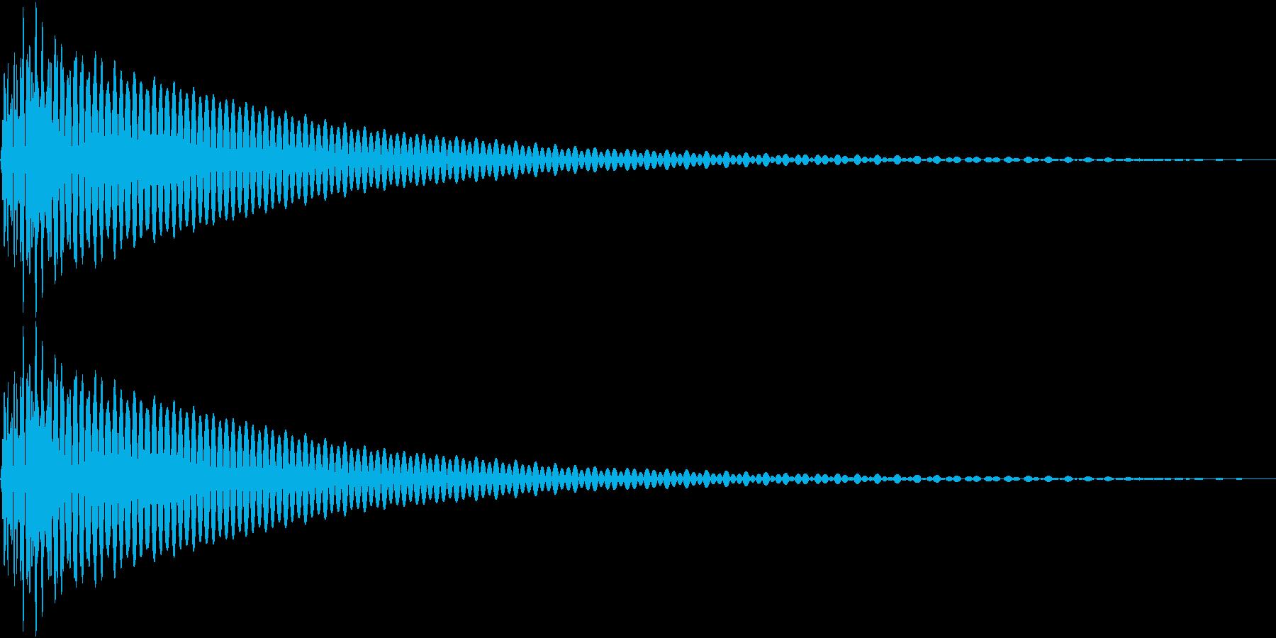 DTM Tom 9 オリジナル音源の再生済みの波形