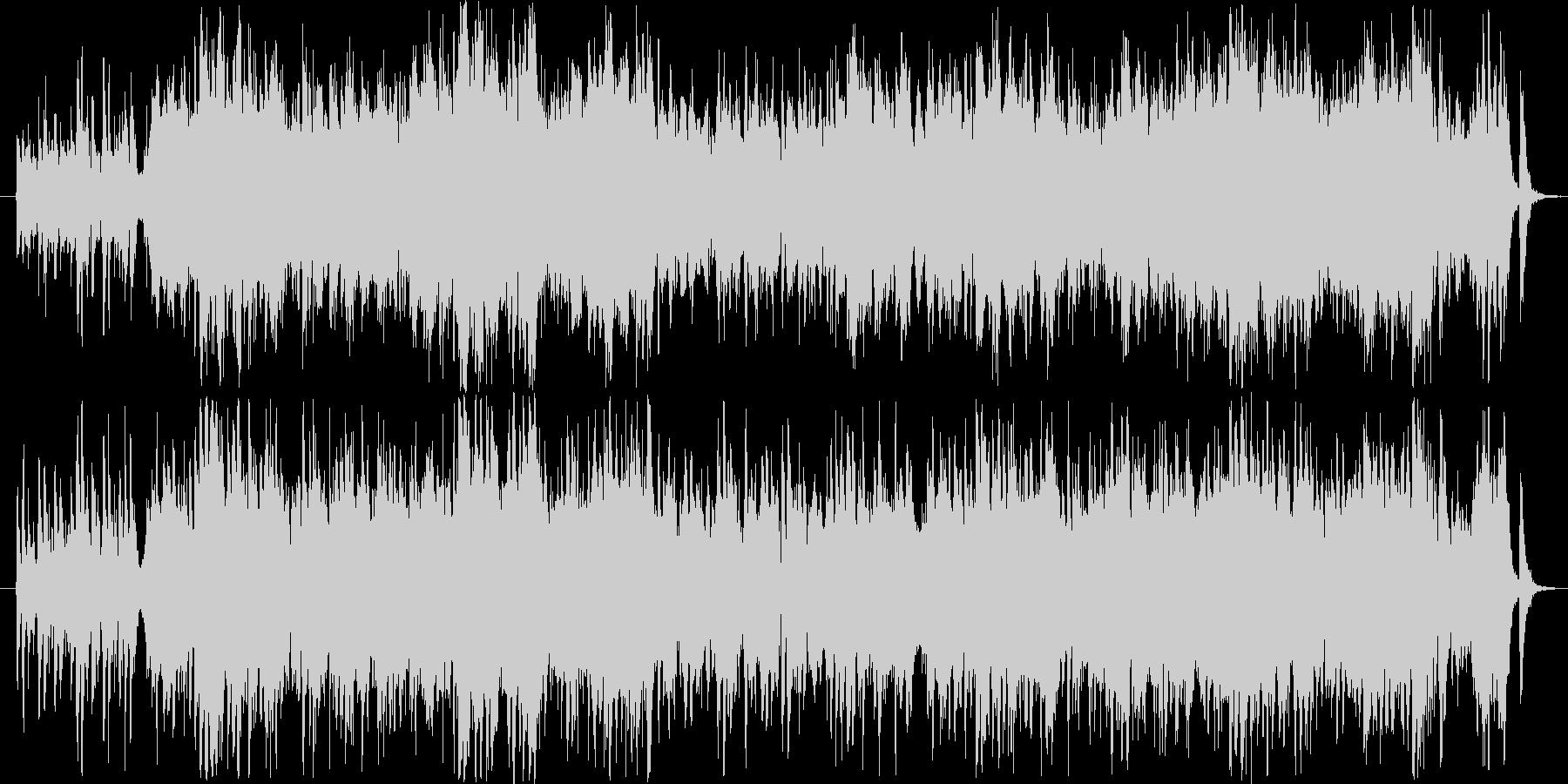 軽快なピチカートワルツファンタジーの未再生の波形