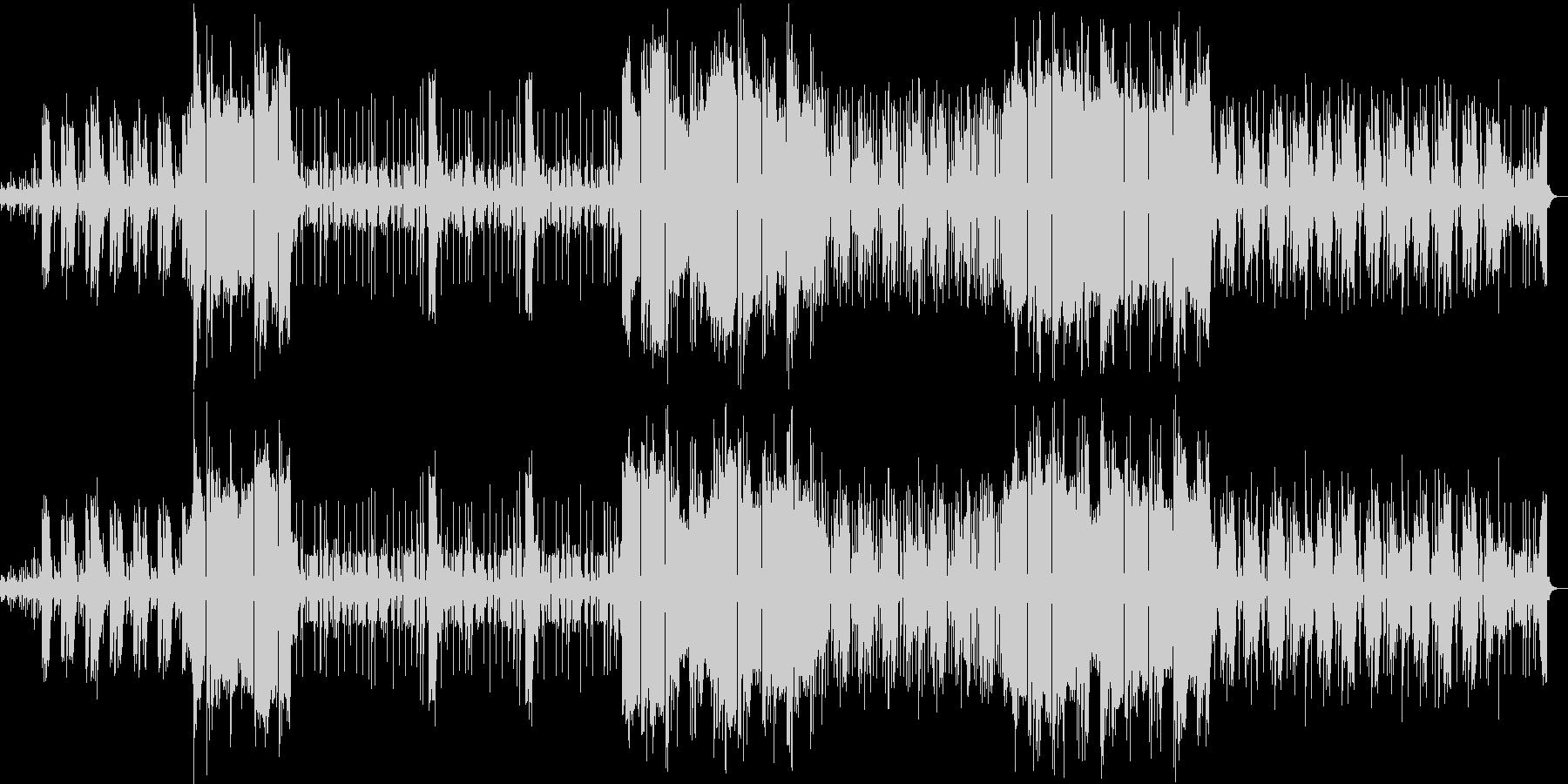 『さくら』三味線のヒップホップアレンジの未再生の波形