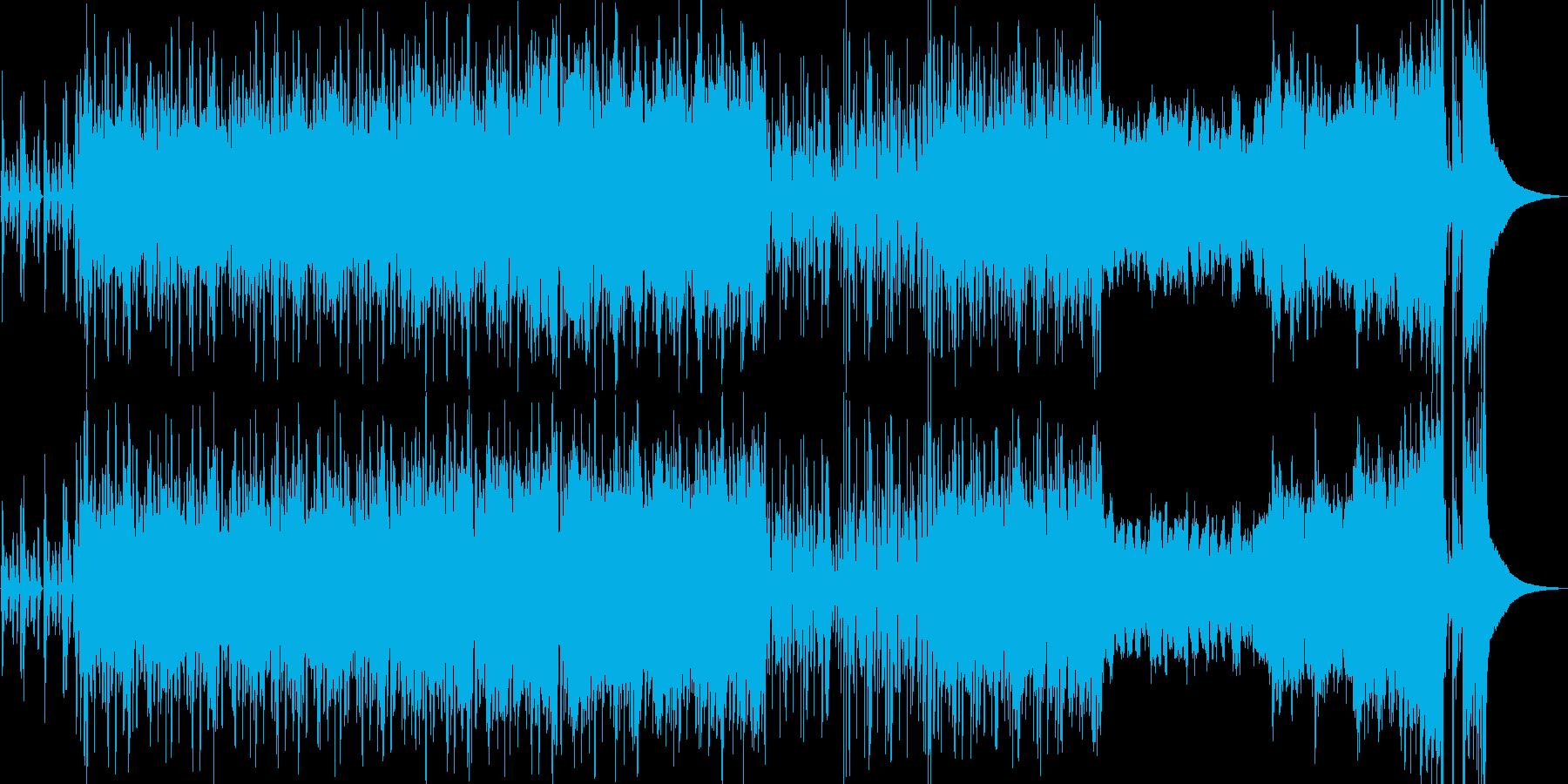 大河時代劇BGM和風オーケストラの再生済みの波形