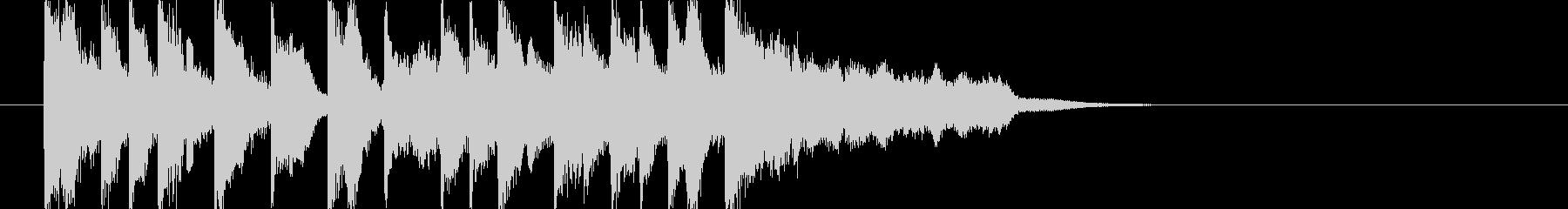 場面切り替え等 ほのぼのジングル和楽J6の未再生の波形