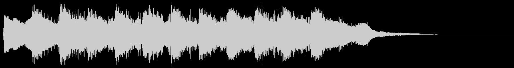8bit レベルアップ ゲームクリア音の未再生の波形