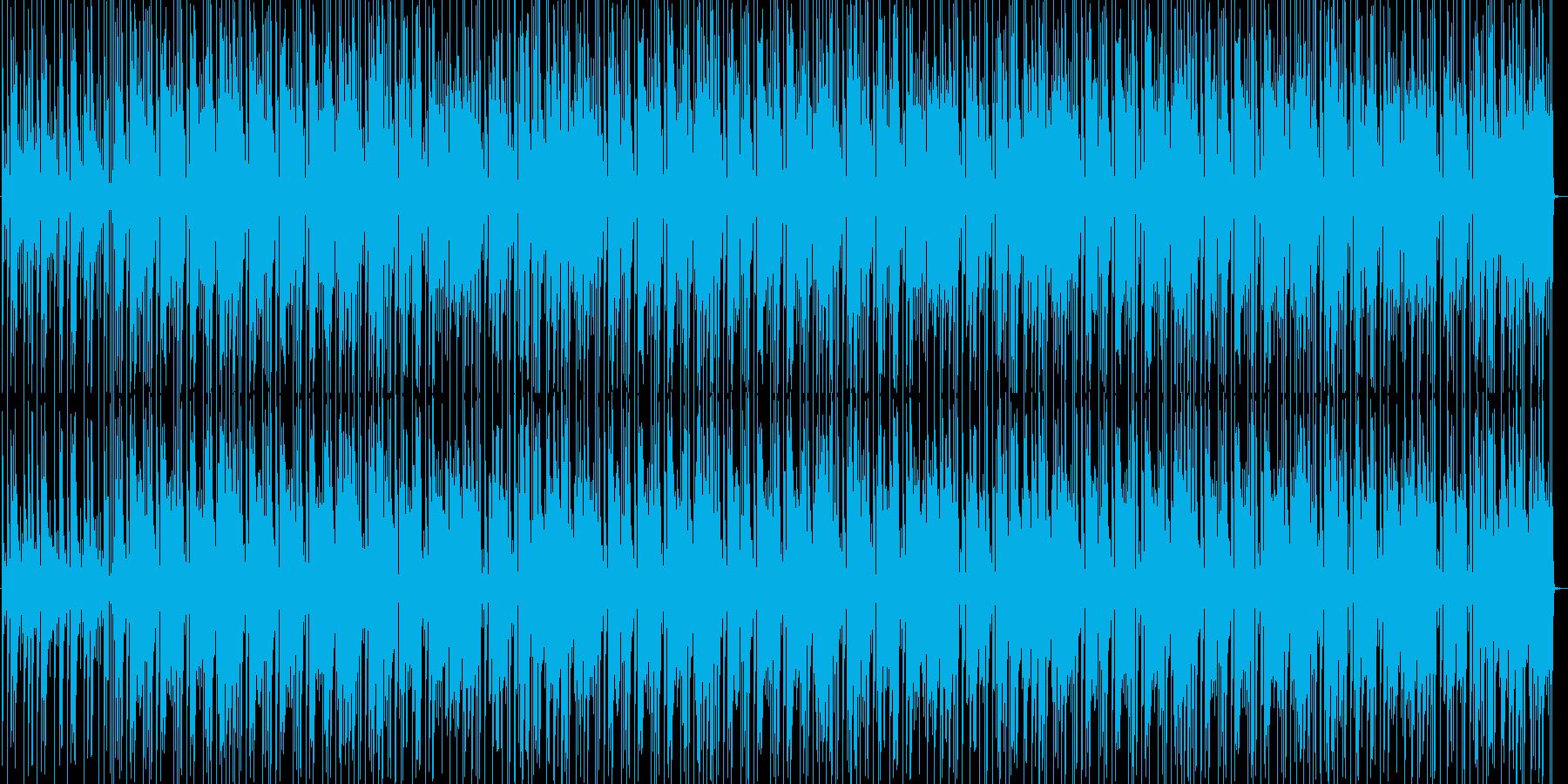 日常風景的な可愛くポップなBGMの再生済みの波形