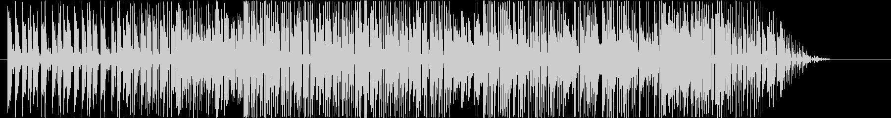 テクニカルなスラップベースの未再生の波形