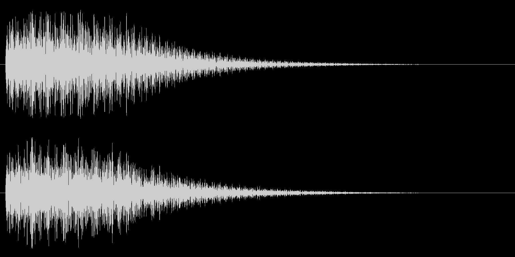 不思議系(混乱、がっかり)の未再生の波形