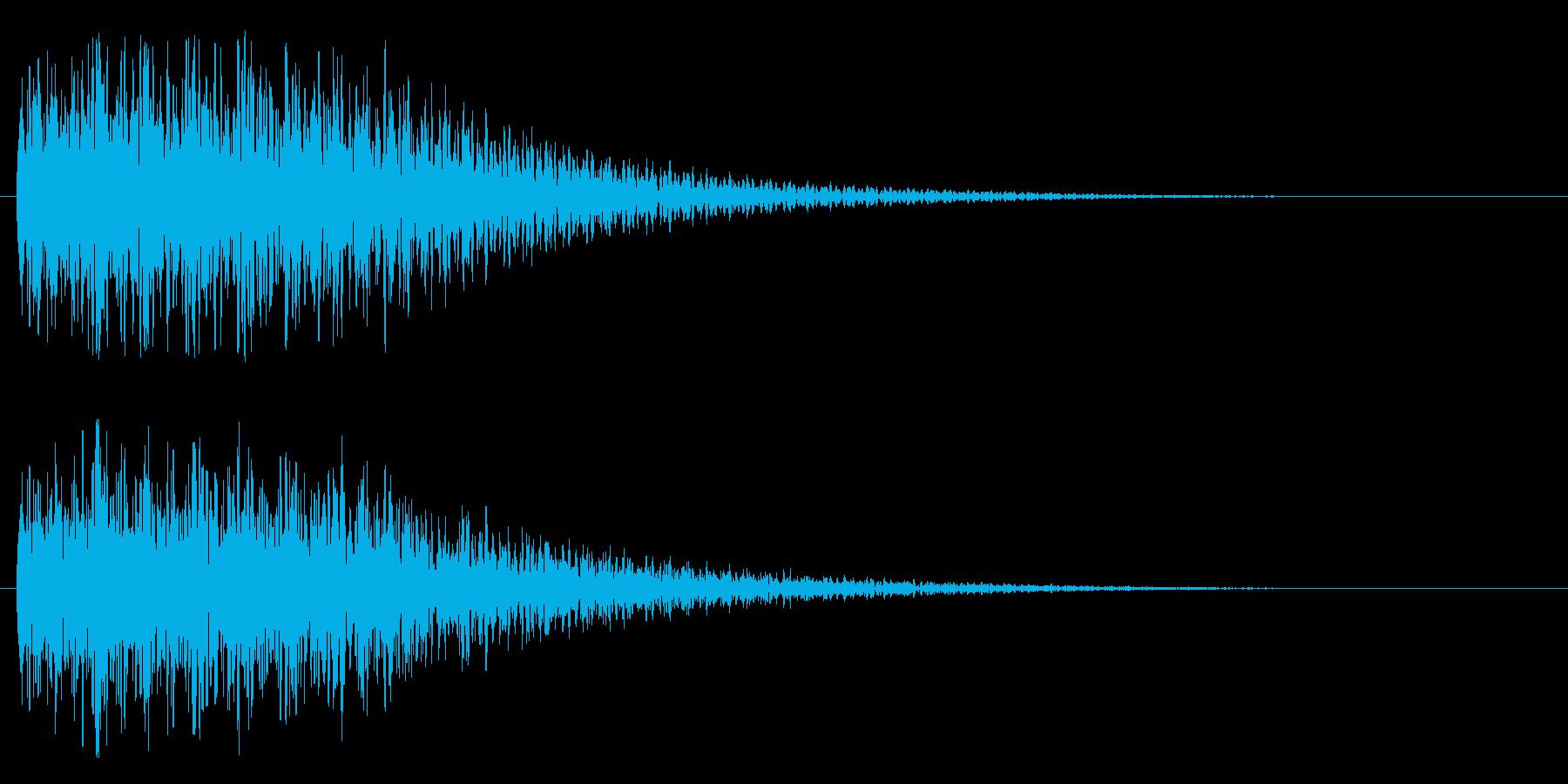 不思議系(混乱、がっかり)の再生済みの波形