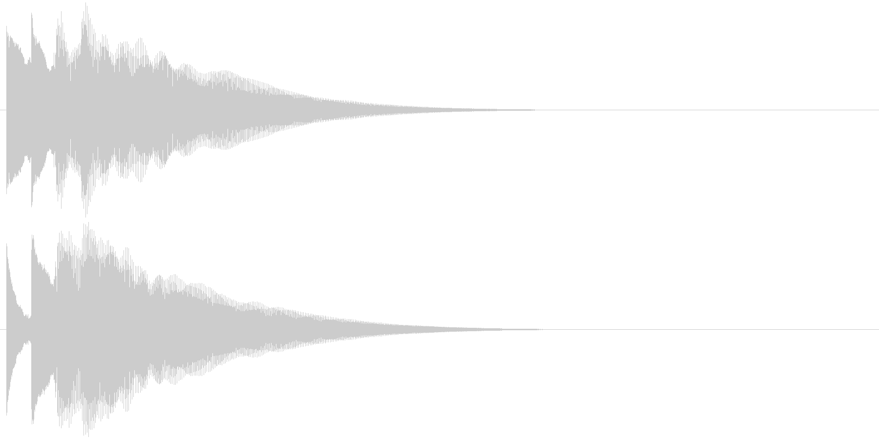 フレーズ系02 文字、スーパー表示(小)の未再生の波形