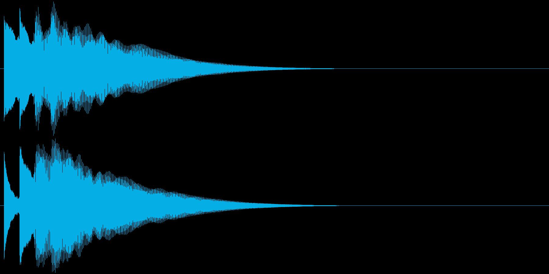 フレーズ系02 文字、スーパー表示(小)の再生済みの波形