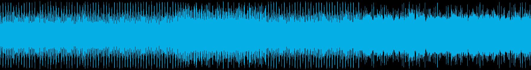 浮遊感のある明るいチップチューンの再生済みの波形
