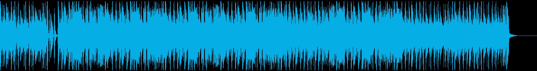 ウクレレと口笛のシンプルで明るいBGMの再生済みの波形