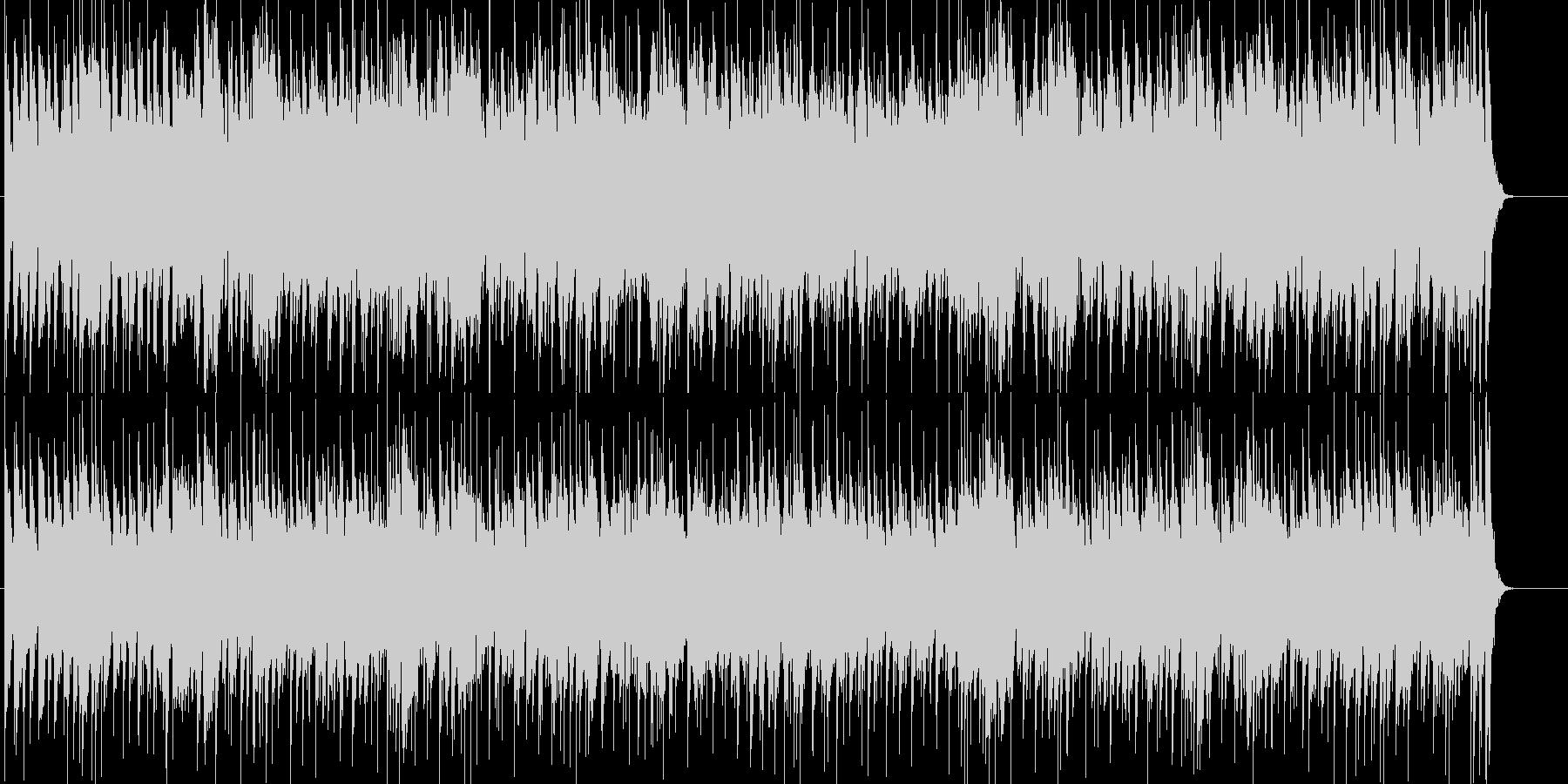 サックスとエレピが印象的なフュージョンの未再生の波形