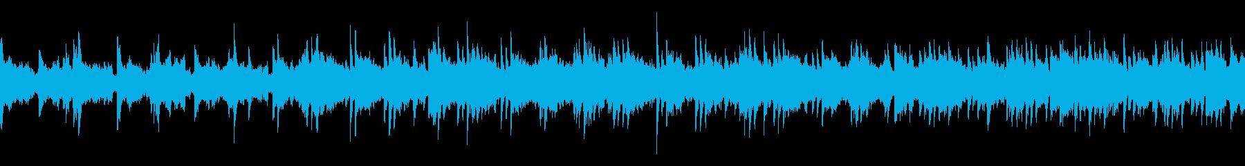 メローなピアノソロインストBGMの再生済みの波形