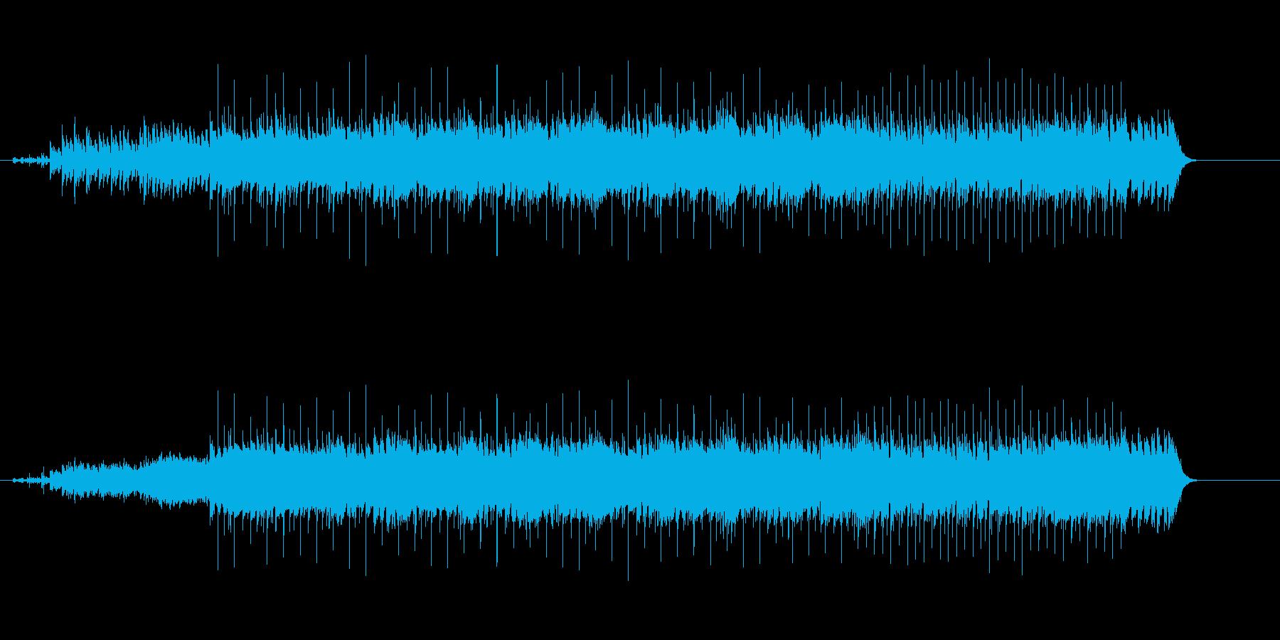 ヘヴィーでダイナミックなマイナー・ロックの再生済みの波形