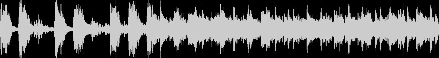 印象に残るロックジングル_ループの未再生の波形