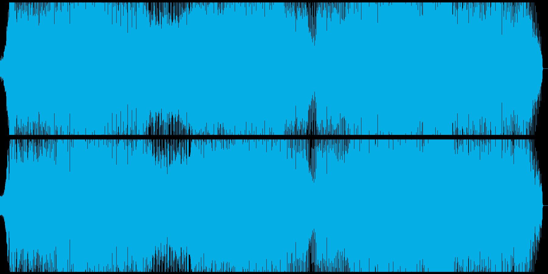 何かの始まりを予感させるEDMの再生済みの波形