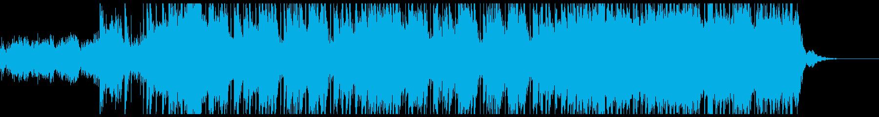 ティーンズ系Hip Hop 起承転結の再生済みの波形
