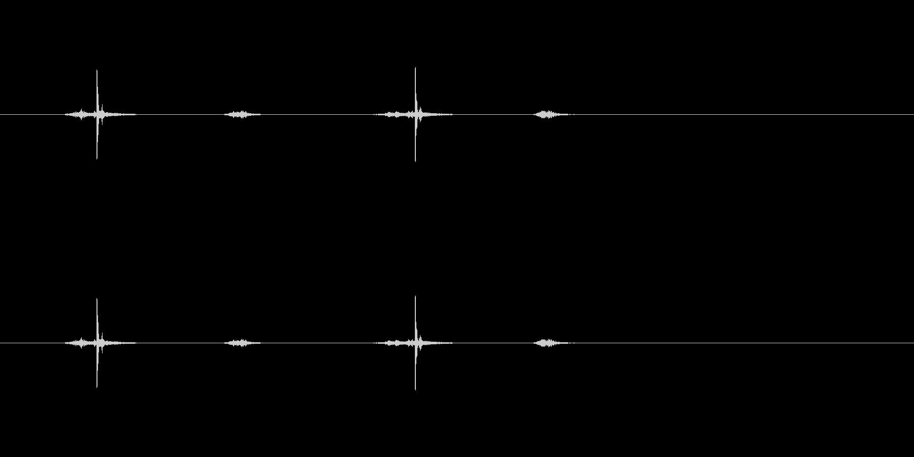 【ハサミ02-6(チョキチョキ)】の未再生の波形