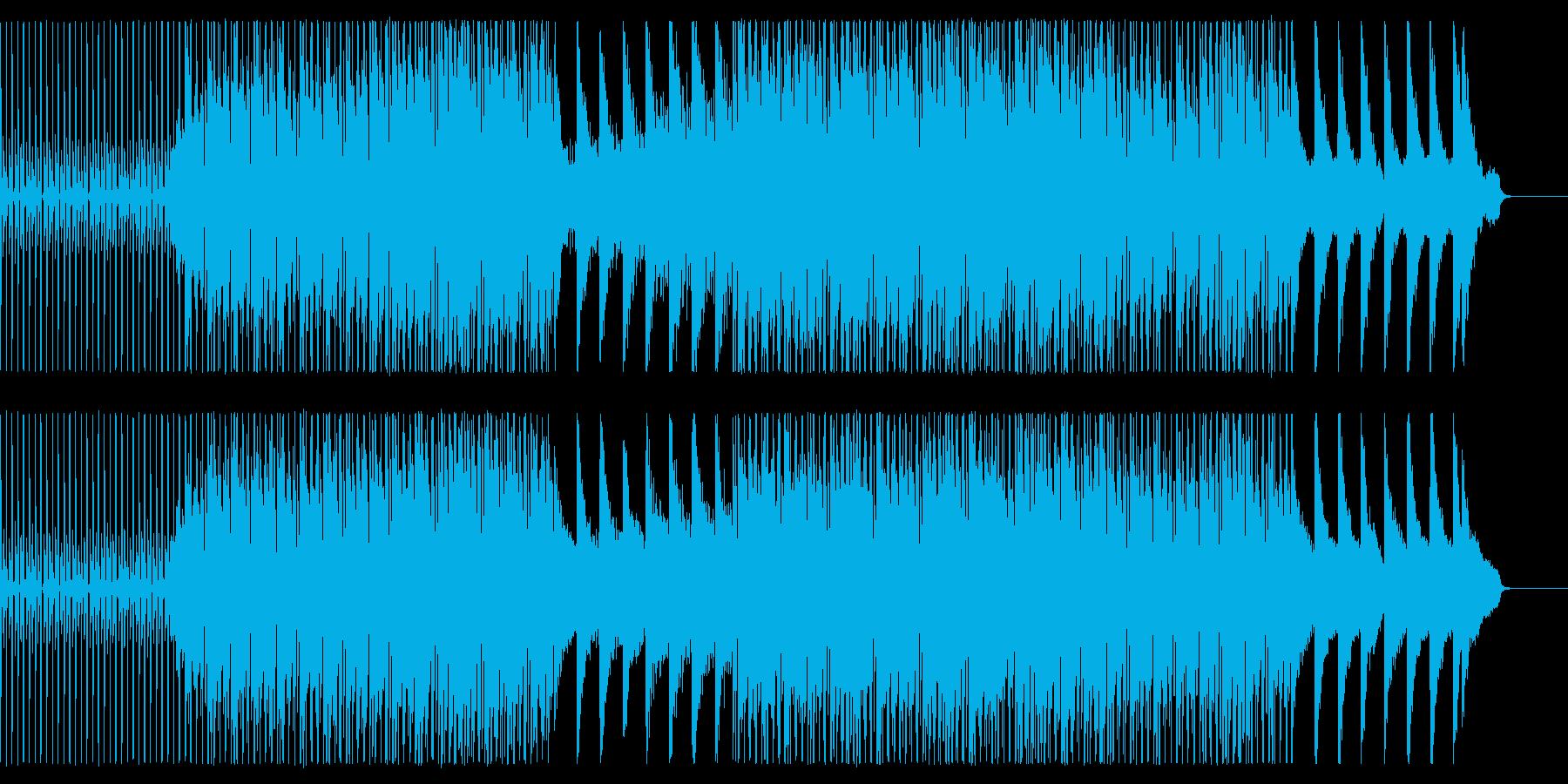 【一撃でクールな印象に】お洒落ハウスの再生済みの波形