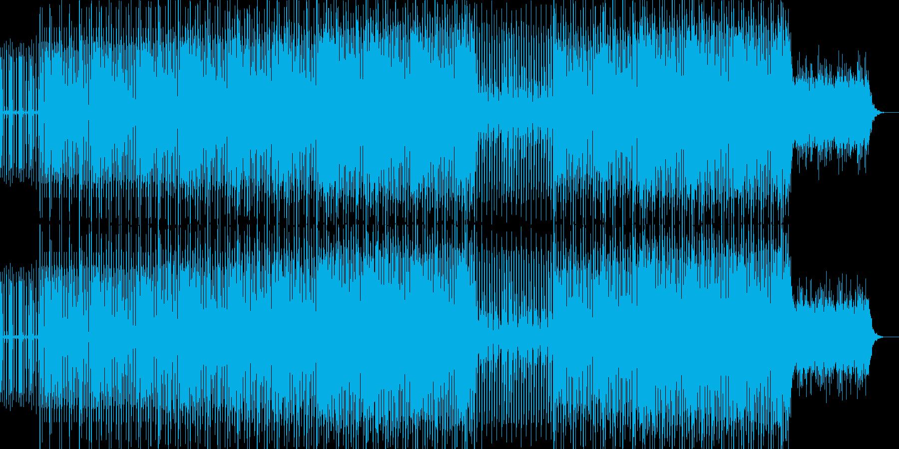 EDMクラブ系アンダーグラウンドテクノの再生済みの波形