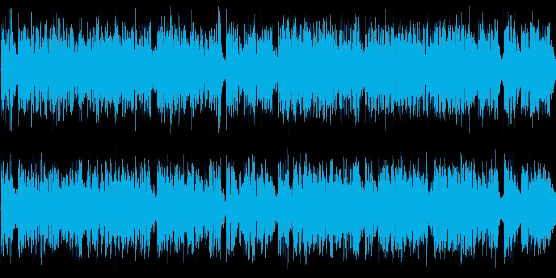 デトロイトを意識した楽曲です。の再生済みの波形