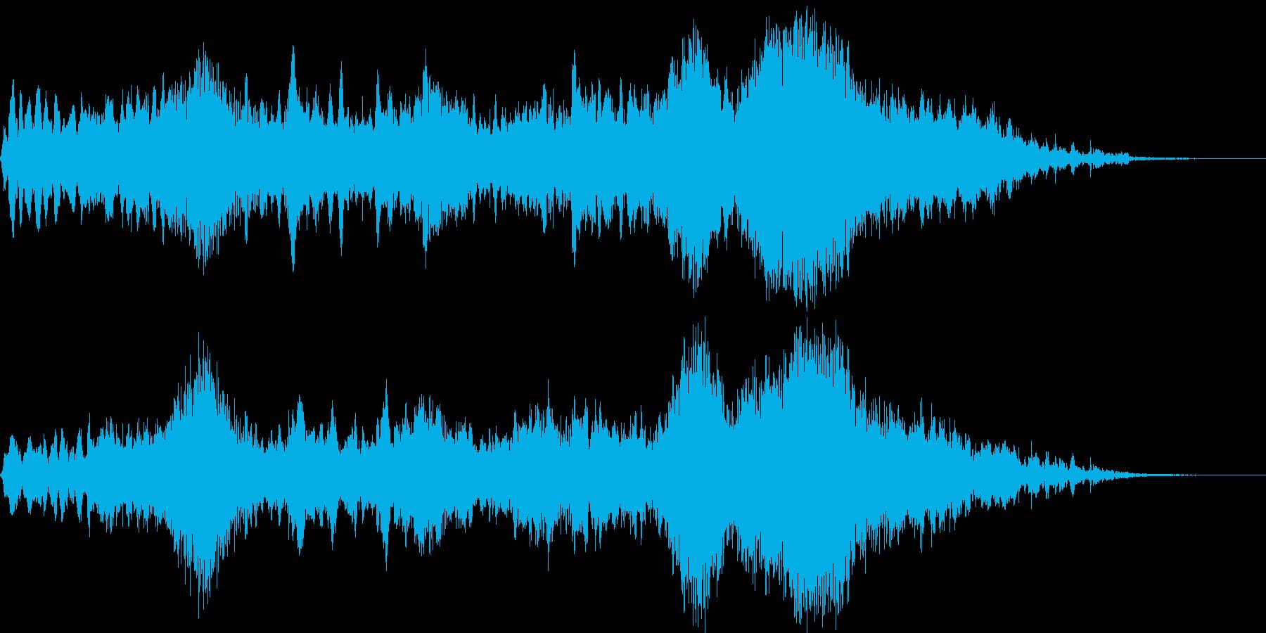 44秒ソング 神秘的 水の再生済みの波形