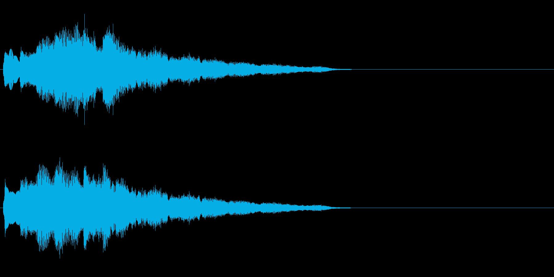 汎用 キラキラ系10(特大) 場面転換の再生済みの波形