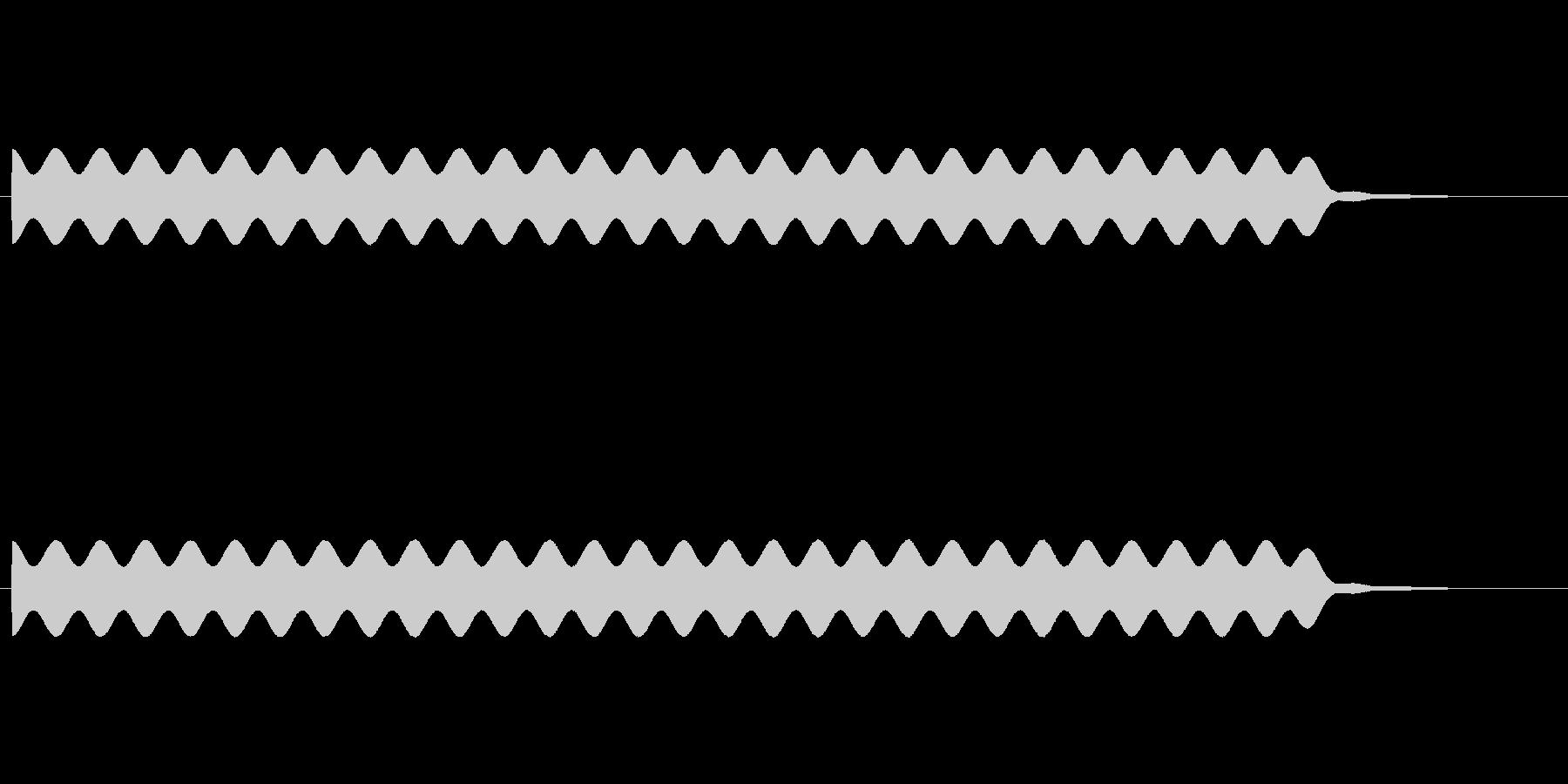 【場面効果音17-3】の未再生の波形