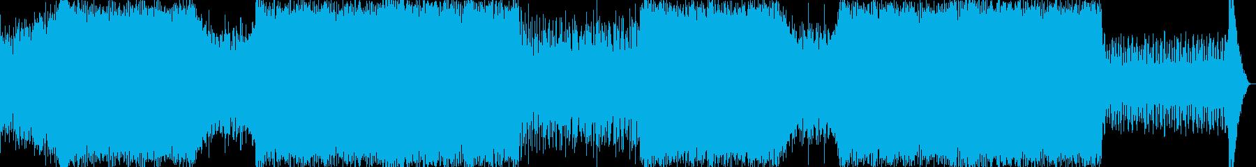 探索系の曲【RPG、シューティング、シ…の再生済みの波形