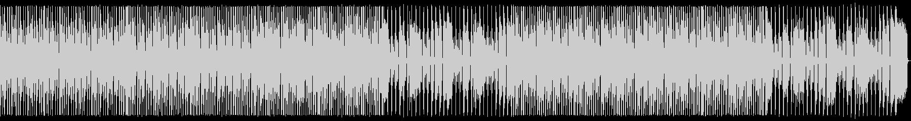 オルガンとサックスの旅支度的なBGMの未再生の波形