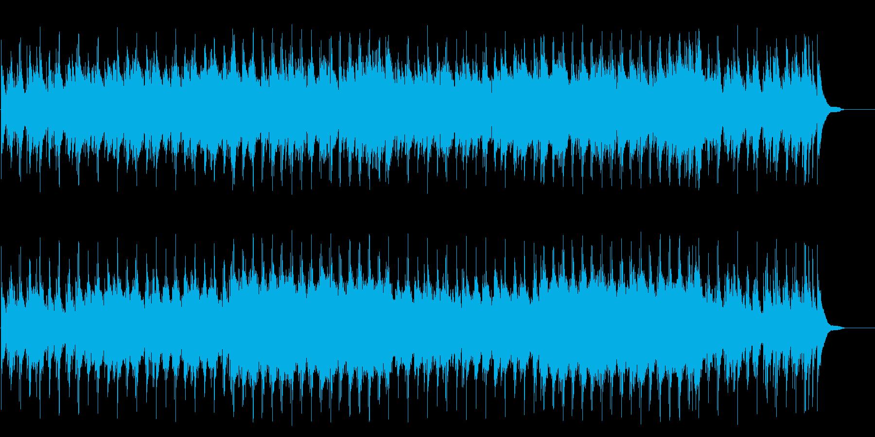 ほのぼのとしたフォーク風ポップ/バラードの再生済みの波形