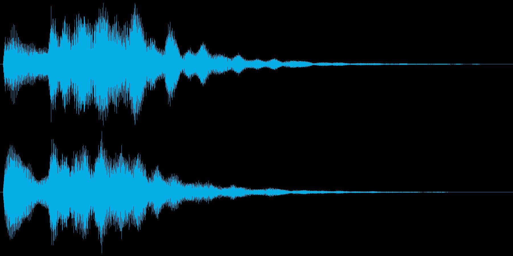 環境音系の効果音です。の再生済みの波形