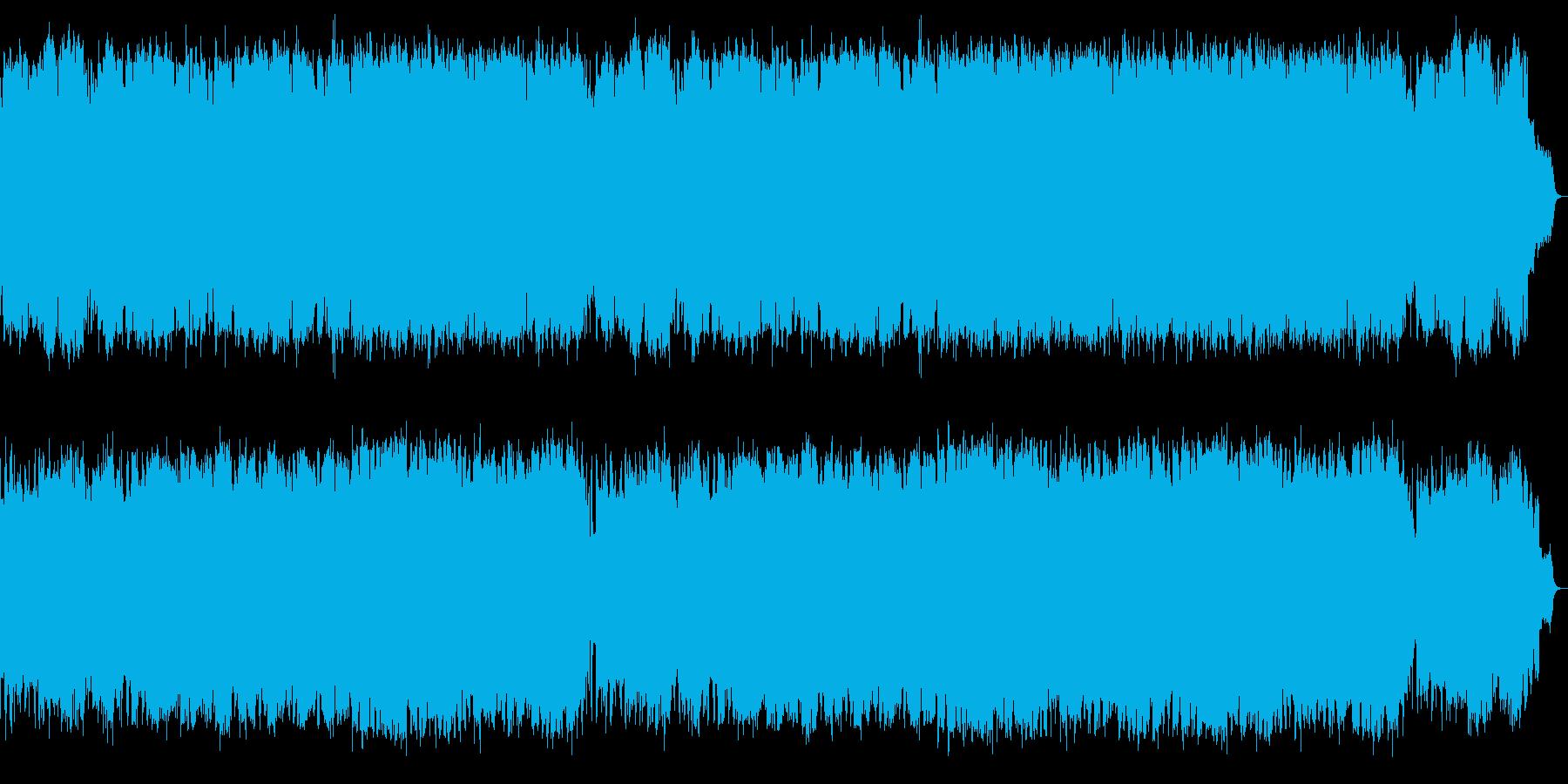SAXの抒情的で切ないメロとジャズワルツの再生済みの波形