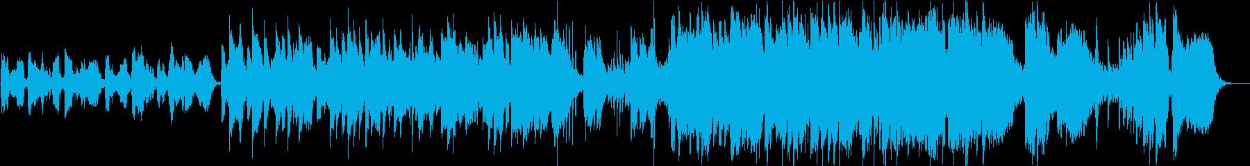 尺八による抒情的な日本音楽 Mix-Bの再生済みの波形