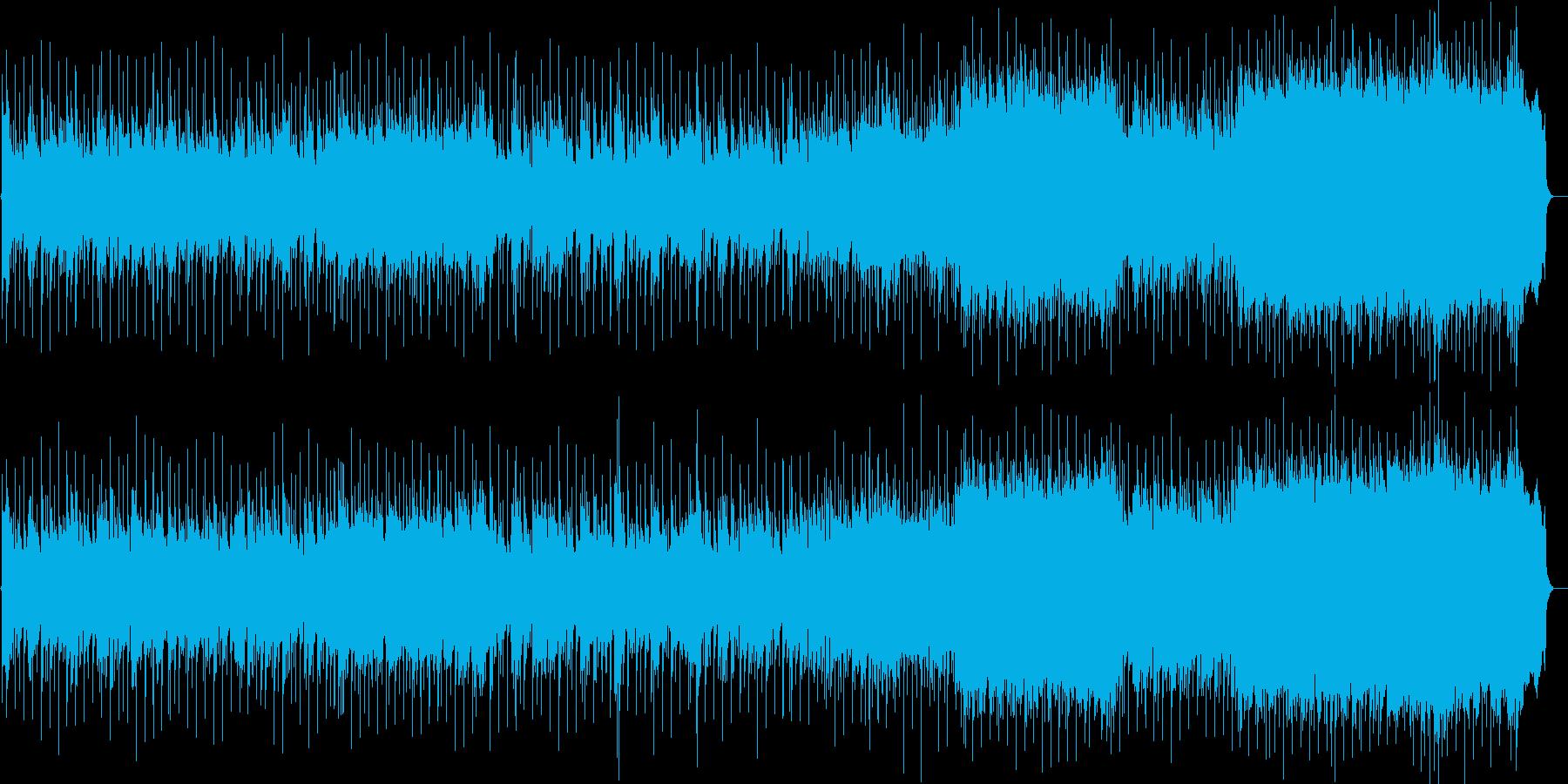 気だるい90'sオルタナカントリーロックの再生済みの波形